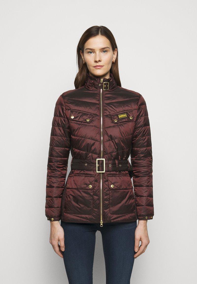 Barbour International - GLEANN QUILT - Light jacket - cocoa