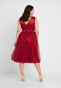 Swing Curve - DRESS - Koktejlové šaty/ šaty na párty - rot - 3