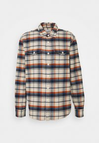 American Eagle - KLINT PLAID SAWYER - Skjorta - cream - 5