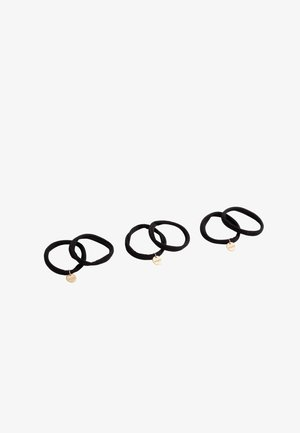 6 PACK - Hair styling accessory - black