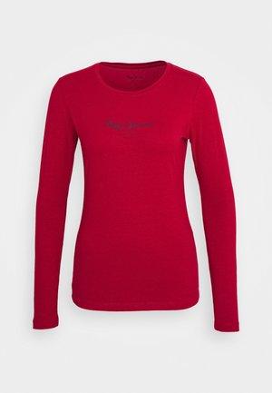 NEW VIRGINIA - Maglietta a manica lunga - blood red