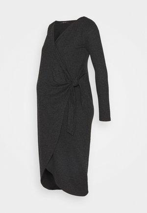 ADNARA - Jersey dress - anthracite