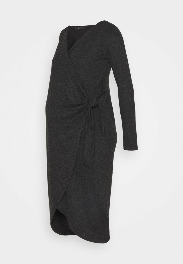 ADNARA - Jersey dress - anthracite