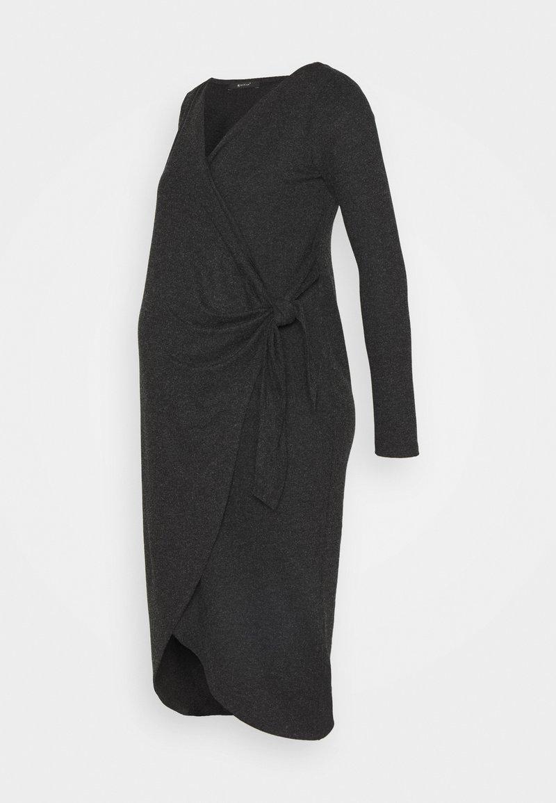 9Fashion - ADNARA - Jersey dress - anthracite