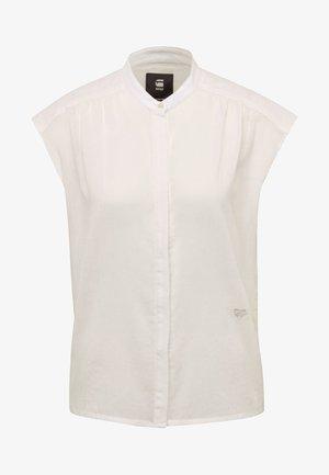 PARGE - Button-down blouse - beige