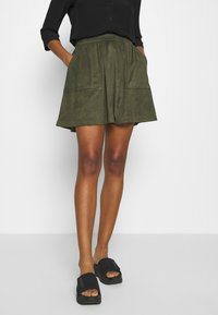 Vila - VICHOOSE  - A-line skirt - forest night - 0