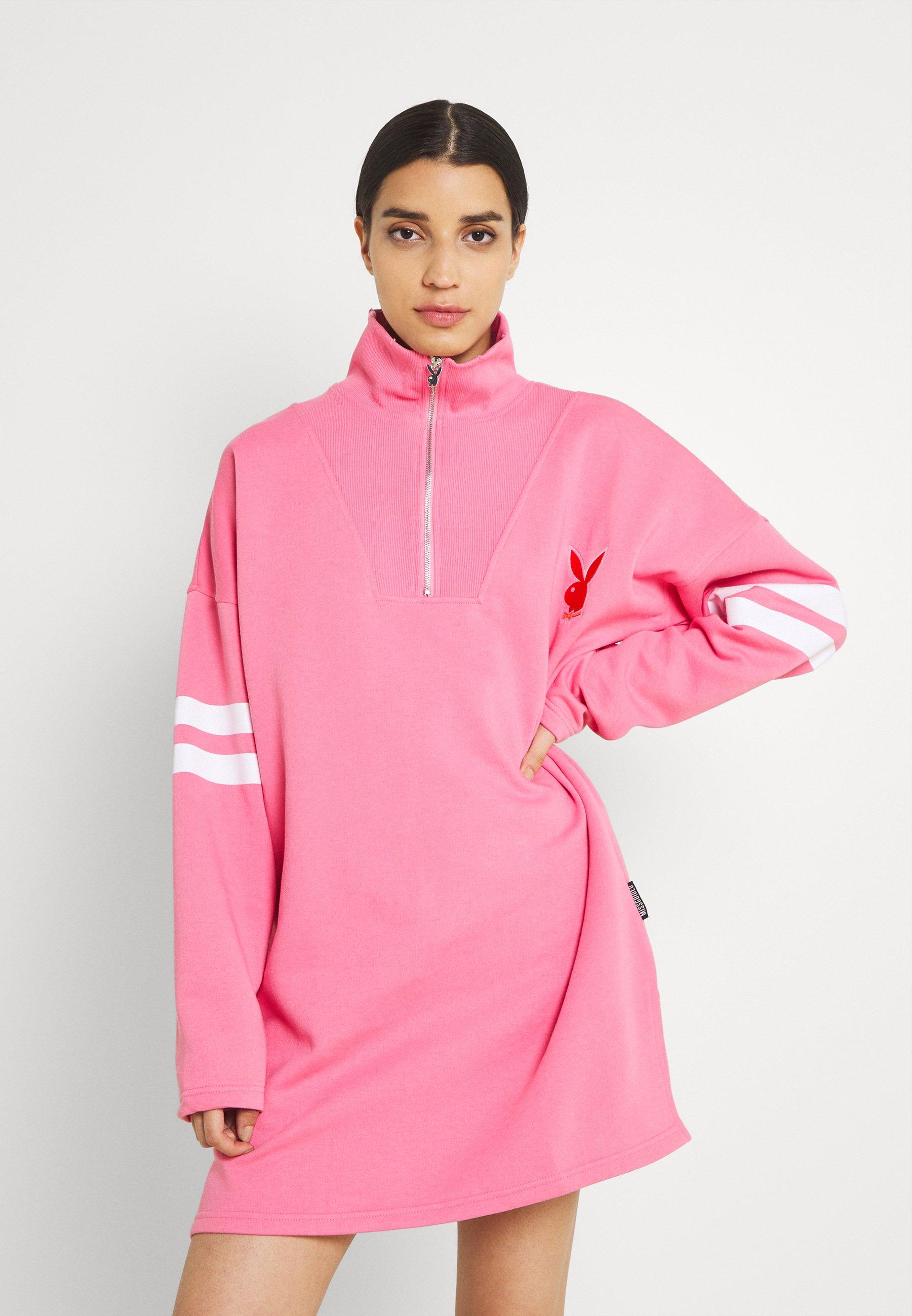 Women PLAYBOY VARISTY 3/4 ZIP - Sweatshirt