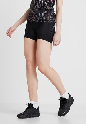 ESSENCE HOT PANTS - Punčochy - black
