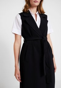 Banana Republic - MAXI TRENCH - Gabardina - black - 5