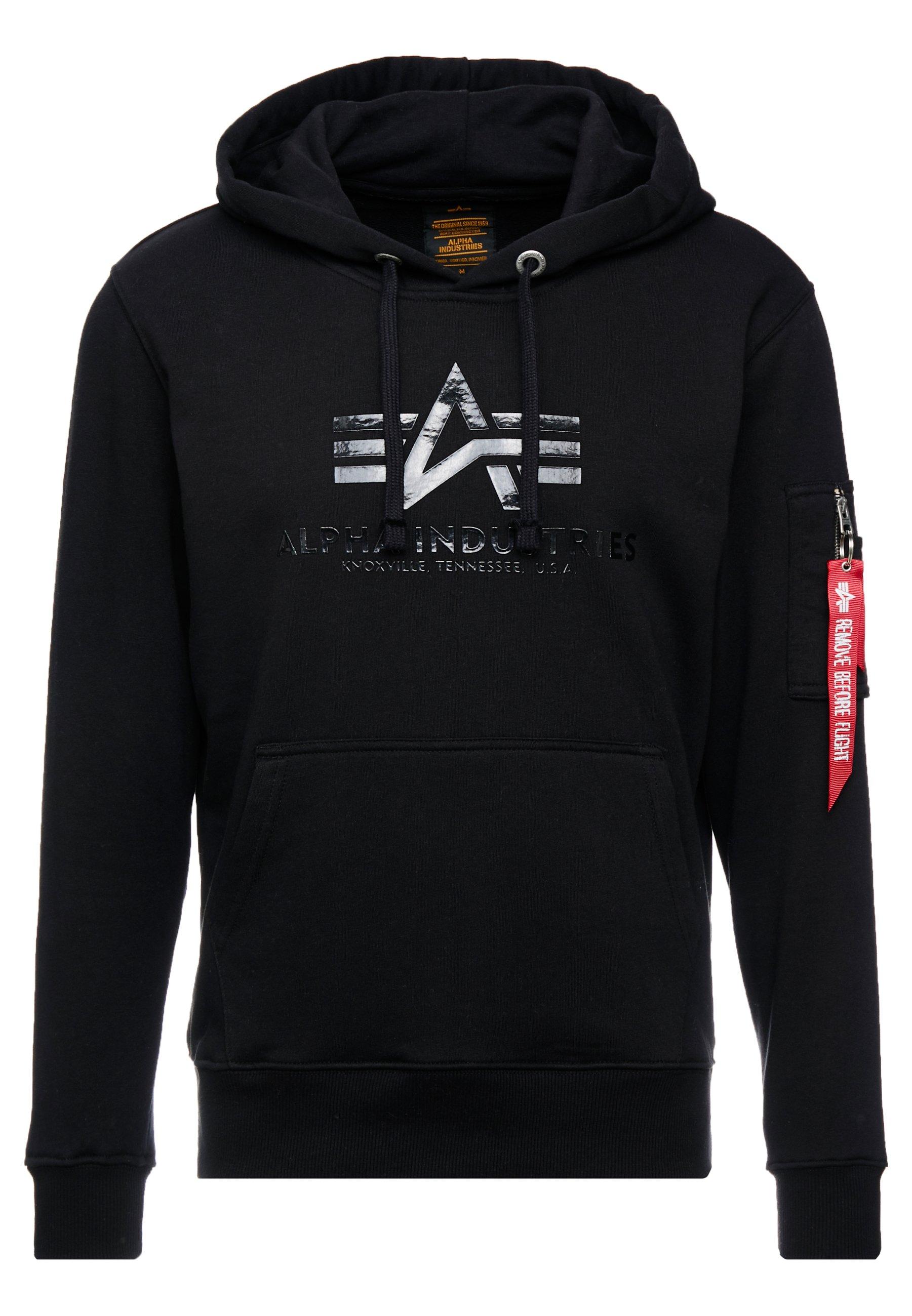 Alpha Industries Sweat à capuche - black