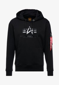 Alpha Industries - Hoodie - black
