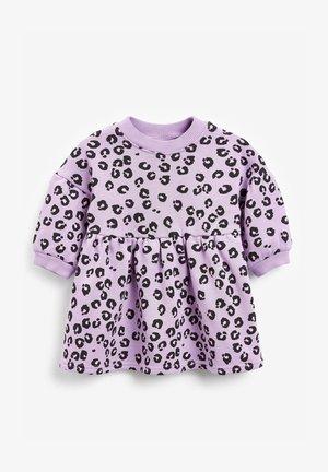 BALLOON SLEEVE - Day dress - lilac