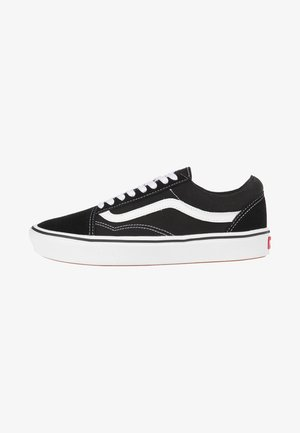 UA COMFYCUSH OLD SKOOL - Matalavartiset tennarit - black