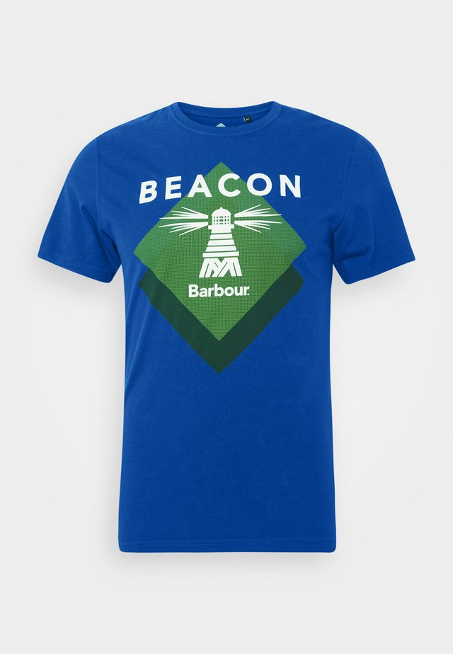 RADAR TEE - T-shirt print - nautical blue