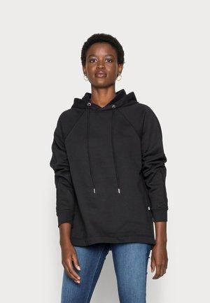 SLFSTASIE HOOD SWEAT NOOS - Sweatshirt - black