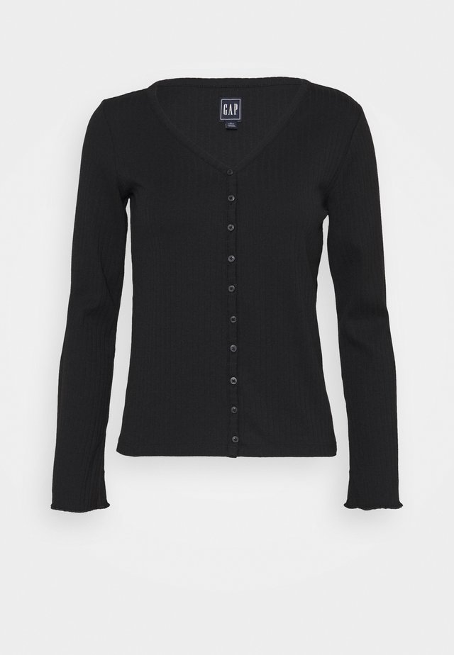 CARDI - Vest - true black