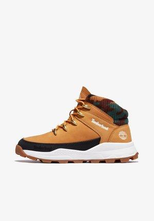 Sneakersy wysokie - wheat