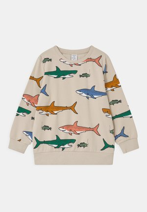 MINI SHARK UNISEX - Sweatshirt - beige