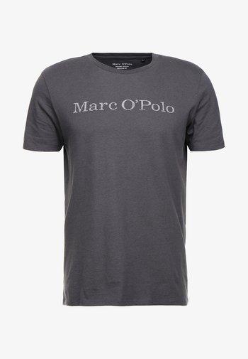 T-shirt med print - gray pinstripe