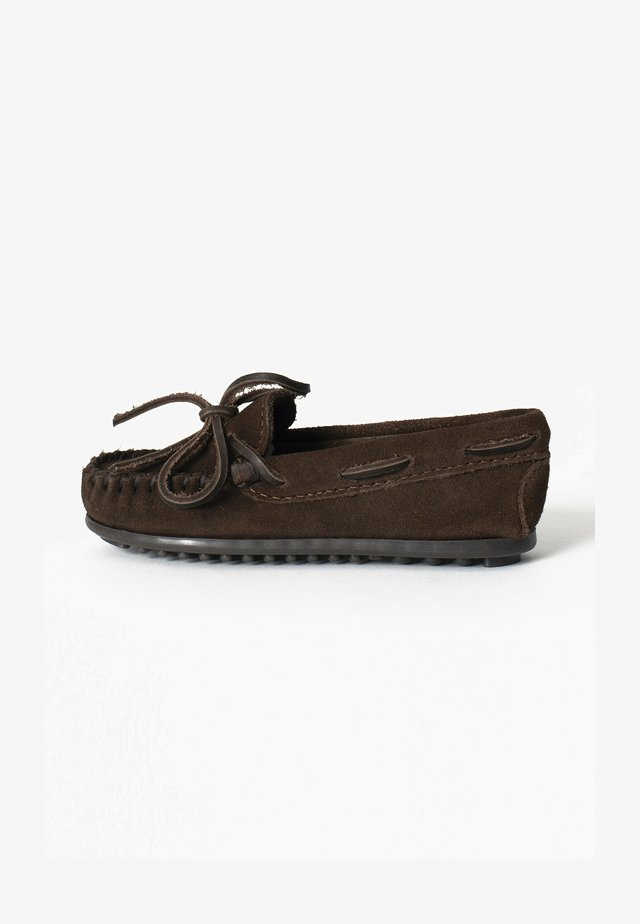BOY'S MOC - Mokasyny - coffee brown