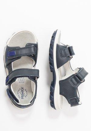 Walking sandals - blu