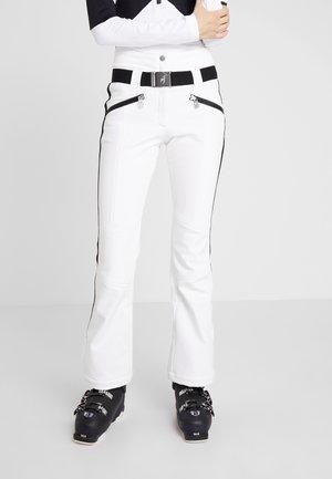 ANAIS NEW - Spodnie narciarskie - bright white