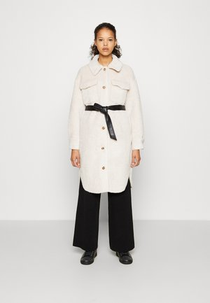 GALI - Classic coat - ecru