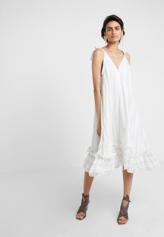 SEL DRESS - Vestito estivo - white stripes
