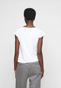 Anna Field Tall - 2 PACK - Basic T-shirt - black/white - 2
