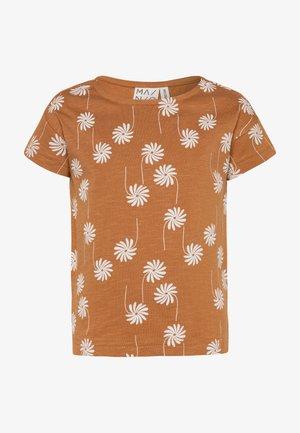 Camiseta estampada - bone brown