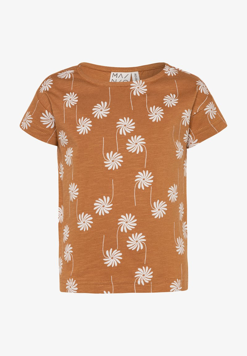Mainio - T-shirt imprimé - bone brown