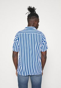 Denim Project - EL CUBA - Shirt - navy/white - 2