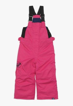 LOLA  - Snow pants - beetroot pink