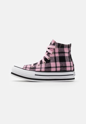 CHUCK TAYLOR ALL STAR PLATFORM - Baskets montantes - black/pink