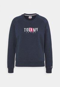 Tommy Jeans - TIMELESS BOX  - Mikina - twilight navy - 5