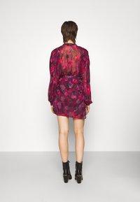 Iro - PASCOT - Mini skirt - fushia/black/red - 2
