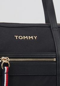 Tommy Hilfiger - SATCHEL - Handbag - black - 5