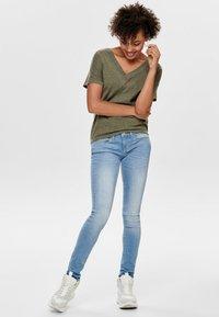 ONLY - Jeans Skinny Fit - light blue denim - 1
