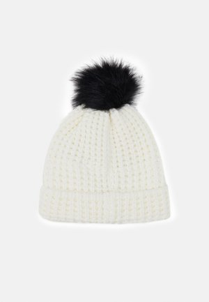 SWIFT BEANIE - Čepice - white/black