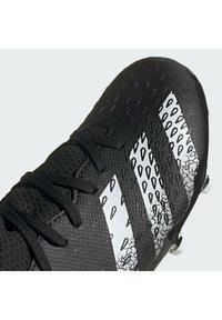 adidas Performance - PREDATOR FREAK .3 FG UNISEX - Moulded stud football boots - core black/ftwr white/core black - 9