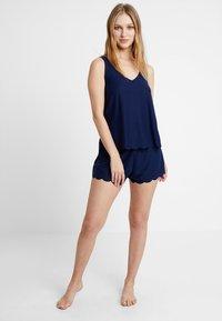 Even&Odd - Pyjama set - dark blue - 1