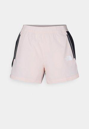 GLACIER SHORT - Korte sportsbukser - light pink/black