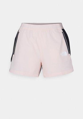 GLACIER SHORT - Träningsshorts - light pink/black
