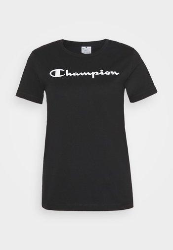 ESSENTIAL CREWNECK LEGACY - T-shirt print - black