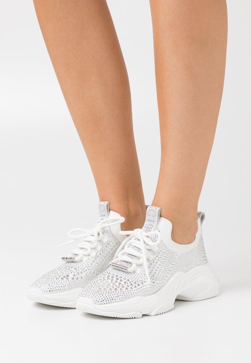 Steve Madden - MACKIE - Sneakers laag - white