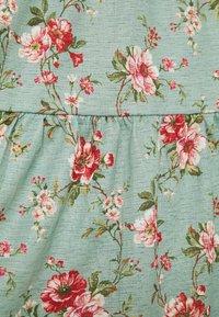 Vila - VINATALIE SHORT DRESS - Jerseykjole - green milieu - 2