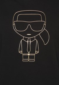 KARL LAGERFELD - CREWNECK - Sweatshirt - black/gold - 6