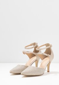 Anna Field - LEATHER - Classic heels - beige - 4