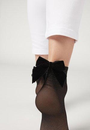 Chaussettes - schwarz