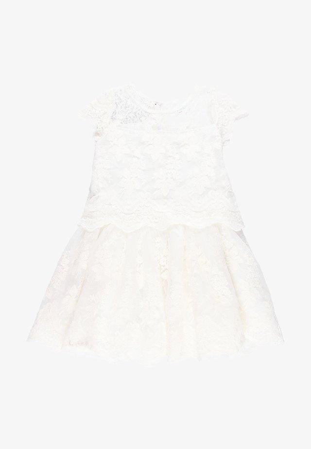 Koktejlové šaty/ šaty na párty - off white